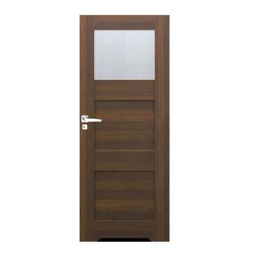 Drzwi z podcięciem do WC Tre 60 prawe orzech north, TREOR000002