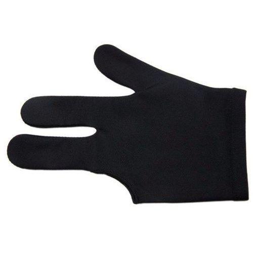 Rękawiczka bilardowa standard 3-palce czarna marki Tournament champion