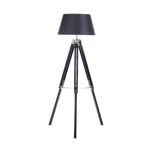 Lampa stojąca czarna - lampa podłogowa - oświetlenie - madeira marki Beliani