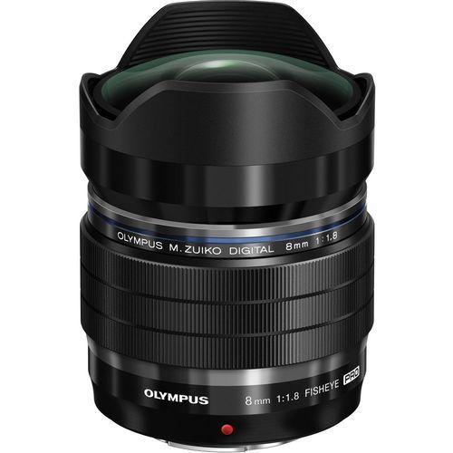 Olympus M.ZUIKO Digital ED 8mm 1:1.8 Fisheye Pro obiektyw do aparatu (4545350047900)
