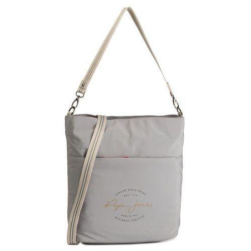 Torebka PEPE JEANS - Shopping 7227661 Grey, kolor szary