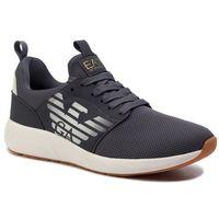 Sneakersy EA7 EMPORIO ARMANI - X8X023 XCC05 00454 Ombre Blue, kolor szary