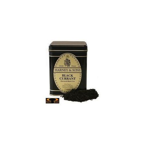 Herbata  black currant, puszka liściasta 198g marki Harney & sons
