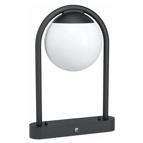 Eglo Prata vecchia 98732 lampa stojąca zewnętrzna IP44 1x28W E27 czarna/biała (9002759987329)