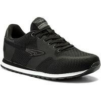 Sneakersy - mp07-17106-01 czarny marki Sprandi