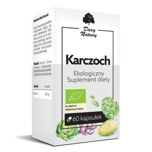 Karczoch bio 60 kapsułek (550 mg) - dary natury marki Dary natury - suplementy bio