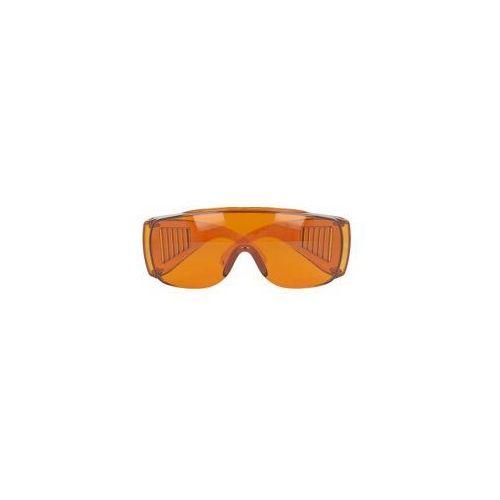 Okulary ochronne UV 100% (pomarańczowe), POL415