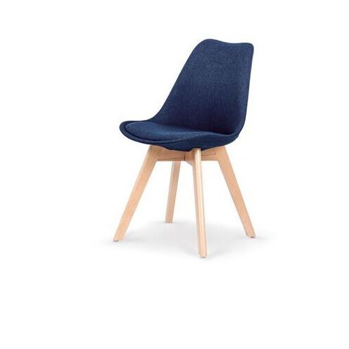 Style furniture Nowoczesne krzesło harry, ciemny niebieski