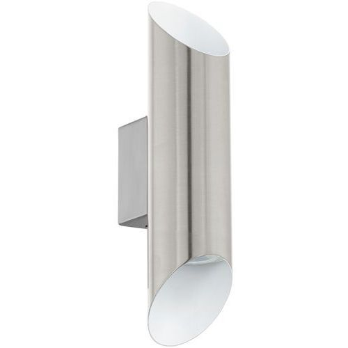 Kinkiet Eglo Viegas 95422 lampa ścienna 2x3,3W GU10-LED nikiel mat