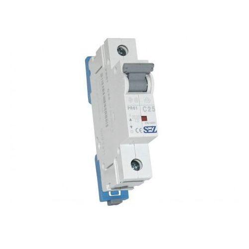 C25a 1p 10ka wyłącznik nadprądowy bezpiecznik typ s eska pr61 sez 1118 marki Pce