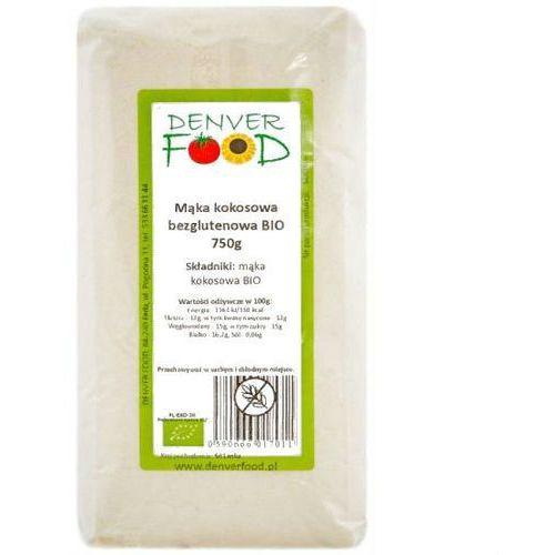Denver food Mąka kokosowa bezglutenowa bio 750 g (5906660017011)
