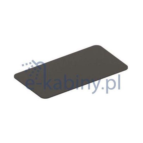 Art ceram fuori scala półka do stelaża ceramiczna czarny mat tfc00417;00 marki Artceram