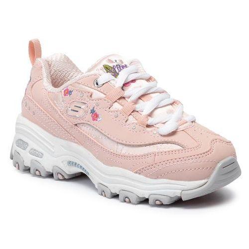 Sneakersy SKECHERS - Bright Blossoms 80589L/LTPK Light Pink