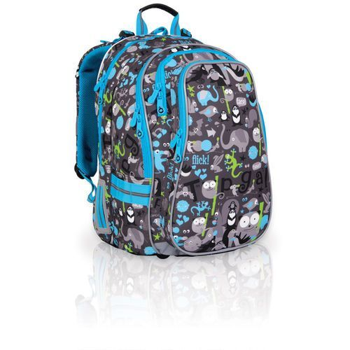 Plecak szkolny Topgal CHI 701 C - Grey - produkt z kategorii- Tornistry i plecaki