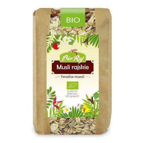 #musli rajskie bio 300 g - bio raj marki Bio raj (konfekcjonowane)