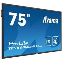 "Iiyama Monitor led te7568mis-b1ag 75"" dotykowy"