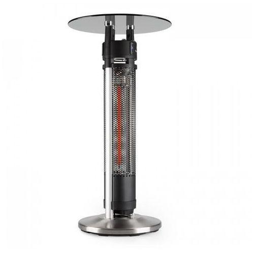 Blumfeldt Primal Heat 95 stolik barowy promiennik podczerwieni carbon LED 95cm (4260509684415)