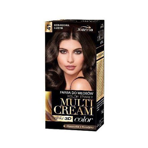 Joanna Farba do włosów  multi cream color czekoladowy brąz 41