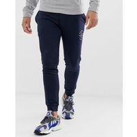 originals joggers with leg branding - navy marki Jack & jones