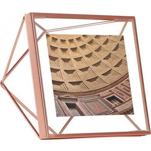 ramka na zdjęcia prisma 10x10 cm - miedziana marki Umbra
