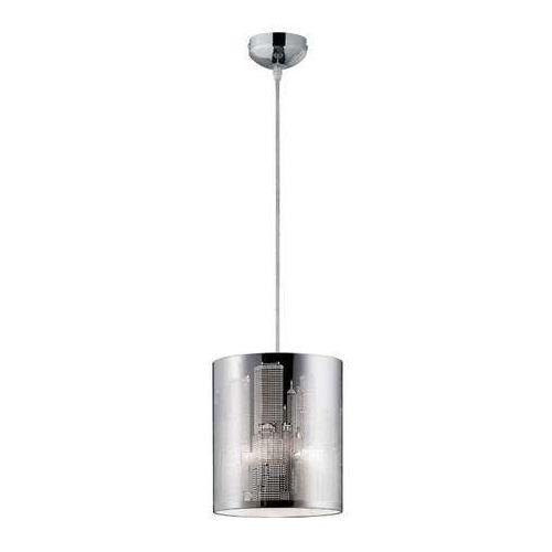 Trio RL City R30081006 lampa wisząca zwis 1x60W E27 chrom / biały