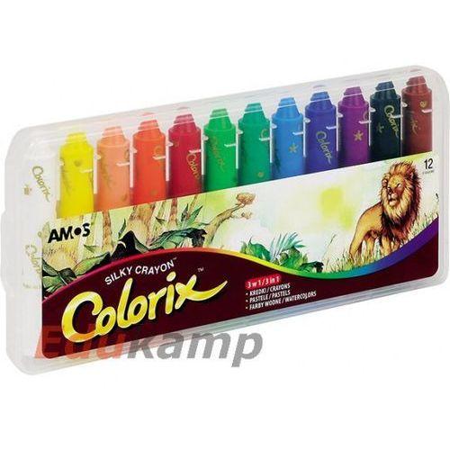 Kredki artystyczne 12 kolorów AMOS