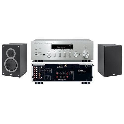 Zestaw stereo YAMAHA R-N602 + ELAC Debut B6 Czarny (2906630256177)
