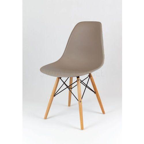 Sk design  kr012 kawa z mlekiem krzesło buk - kawa z mlekiem \ drewno buk