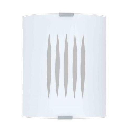 Eglo Kinkiet grafik 83132 lampa ścienna sufitowa 1x60w e27 biały (9002759831325)