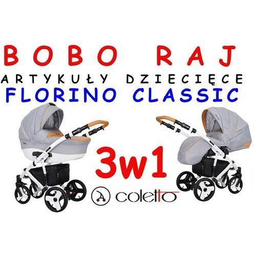 Coletto Wózek głeboko-spacerowy firmy  model florino classic + fotelik