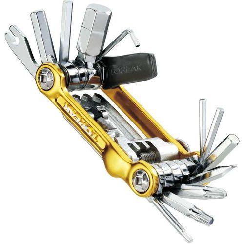 Topeak Mini 20 Pro Narzędzie wielofunkcyjne, gold 2020 Narzędzia wielofunkcyjne