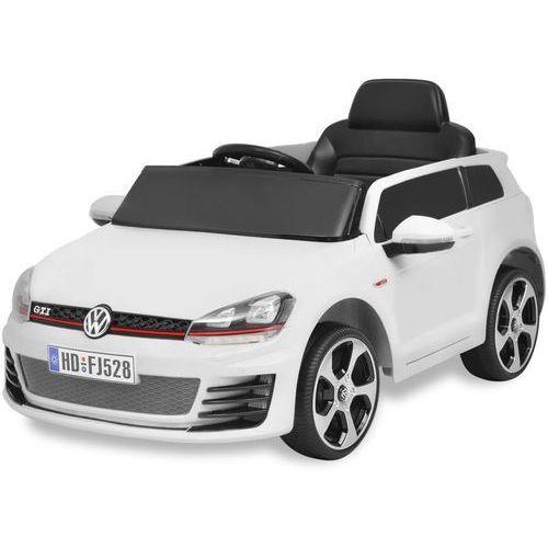 samochód-jeździk vw golf gti 7 ze zdalnym sterowaniem, biały marki Vidaxl