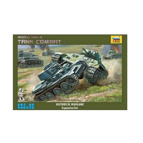 Zvezda 6222 - World War II Tank Combat - Historical Wargame