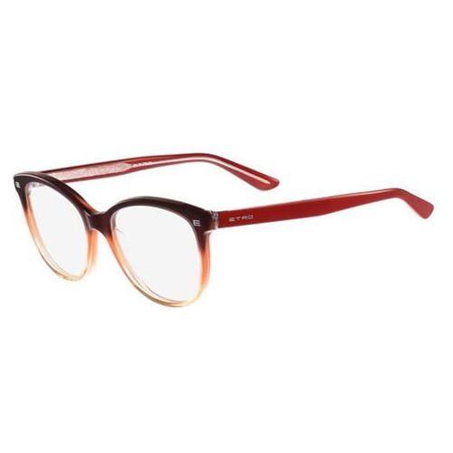 Etro Okulary korekcyjne et 2602 233