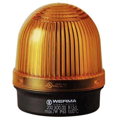 Sygnalizator świetlny  200.300.00, światło ciągłe, ip65, żółty marki Werma signaltechnik