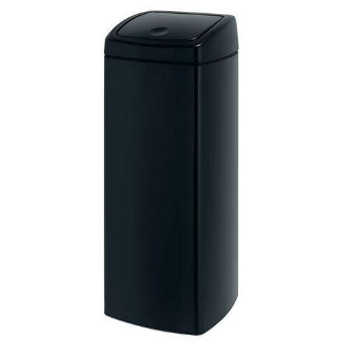 Brabantia Kosz na śmieci touch bin 25l czarny połysk