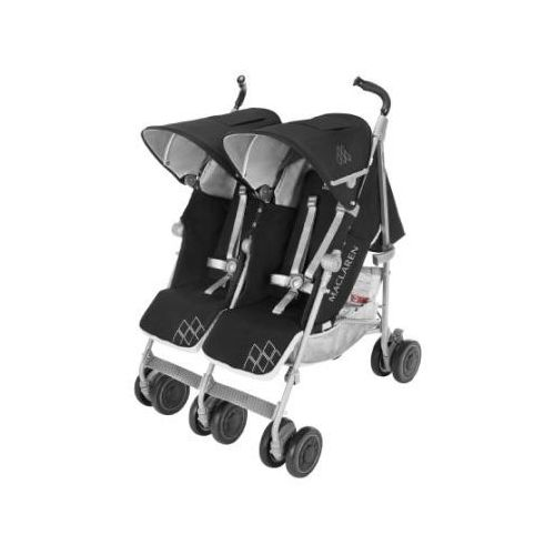 MACLAREN Wózek podwójny Twin Techno Black (5010902217265)