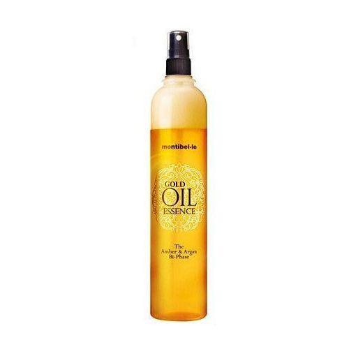 Montibello Gold Oil Essence, odżywka dwufazowa, wygładza, nawilża i wzmacnia 400ml (8429525110674)