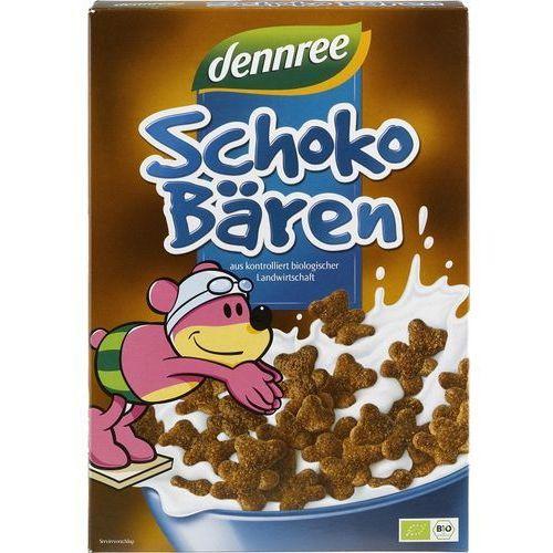 Dennree (dżemy, miody, herbaty) Płatki śniadaniowe misie czekoladowe bio 250 g dennree