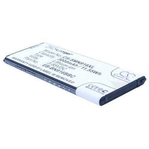 Samsung Galaxy Note 4 / EB-BN916BBC 3000mAh 11.55Wh Li-Ion 3.85V (Cameron Sino), CS-SMN916XL