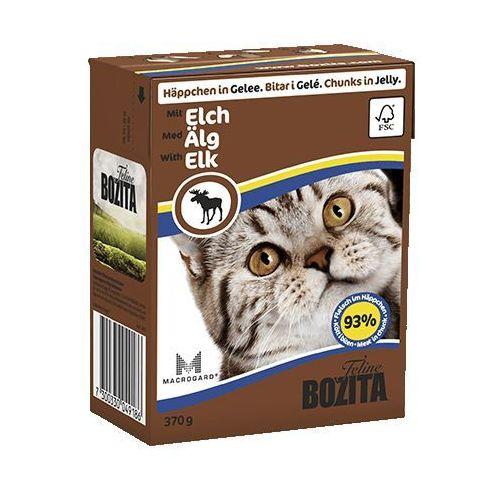 łosoś w galaretce dla kota (elch) 370g marki Bozita