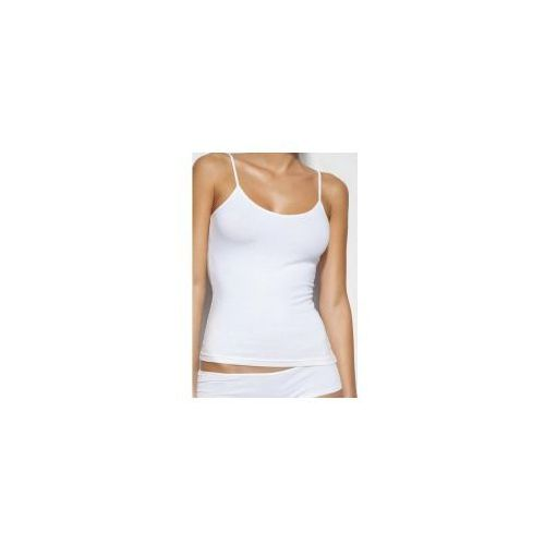 Koszulka damska na ramiączka Atlantic BLV-197 biała, BLV-197 biała