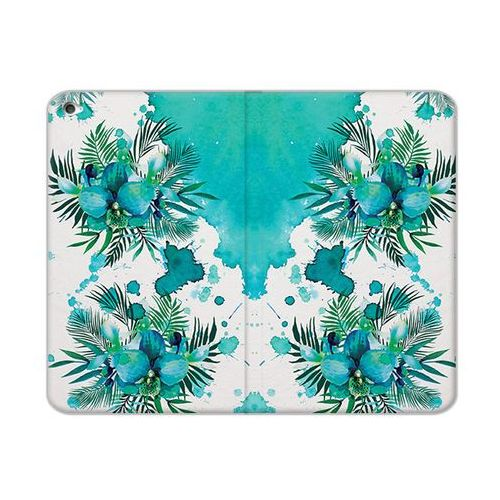 Apple iPad Mini 4 - etui na tablet Flex Book Fantastic - turkusowa orchidea