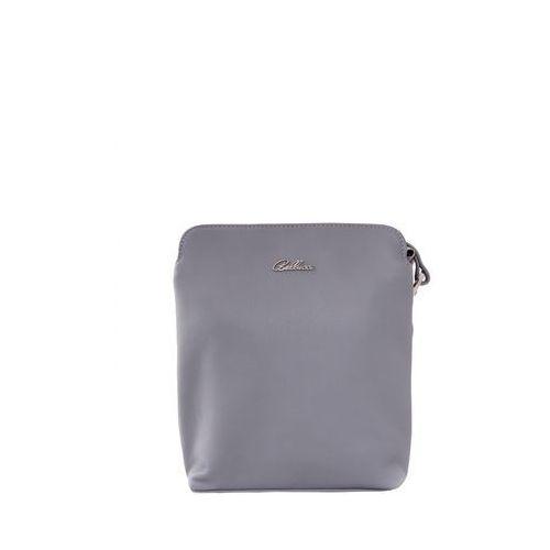 Szara torebka na cienkim pasku - Franco Bellucci