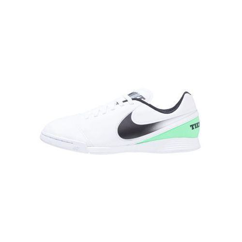 Nike Performance TIEMPO LEGEND VI IC Halówki white/black/electro green (0826220525204)
