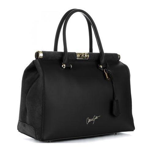 Vittoria gotti Ekskluzywny kufer skórzany w rozmiarze xxl czarny (kolory)