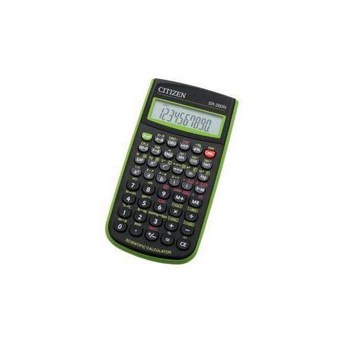 Kalkulator Citizen SR-260NGR (SR-260NGR) Czarna/Zielona
