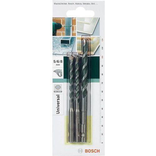Zestaw wierteł wielozadaniowych  sds-quick 2609256918, stal hartowana, sds-quick marki Bosch accessories