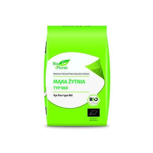 Bio planet : mąka żytnia typ 960 bio - 1 kg (5907814660220)