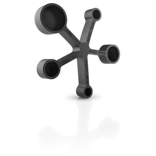 Podstawka pod gorące naczynia z zestawem miarek Eva Solo czarna (5706631191531)
